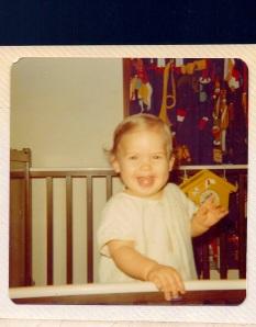 Becky in Crib